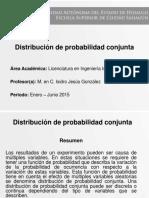 Distribucion de Probabilidad Conjunta