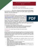 Senior Partnership Officer Position- CDA