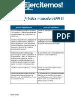 Actividad Práctica Integradora 3 - Sociología General