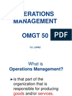 Operations Management Chapter1