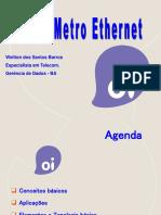 Treinamento Rede MetroEthernet OK