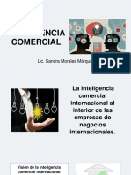 La Inteligencia Comercial Internacional Al Interior de Las Empresas de Negocios Internacionales