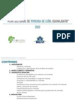 Plan Sectorial de Vivienda