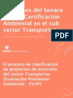 CERTIFICACIÓN AMBIENTAL EN TRANSPORTES