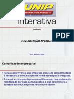 Und 4 Slide Comunicação Aplicada