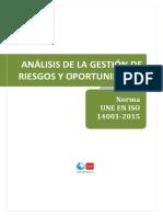 Analisis de Riesgos 14001