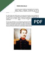 Pedro Ruiz Gallo (Biografia)