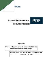 PROCEDIMIENTO EN CASO DE EMERGENCIA.doc