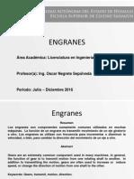 ONS Introduccion a Los Engranes Diseño de Mecanismos