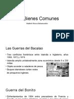 1.- Los Bienes Comunes