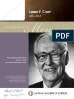 Biographical Memoirs of James F. Crow - National Academy of Sciences