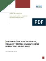 Lineamientos de Atencion Integral Vigilancia y Control de Las IRAS.561