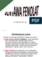senyawa-fenolat, FF