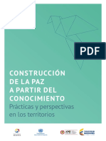 Experience-based Peacebuilding - Practices and Perspectives From Different Regions - Spanish Version