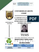 TESIS Importancia de La Toma de Informacion en Pozo Con Bombeo Mecanico