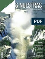 Nota sobre el Parque Nacional Iguazú y dos infografías