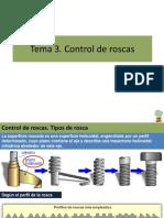 Control de Roscas y verificación