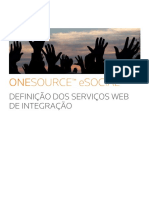 ONESOURCE ESOCIAL Integrador Definicao WebServices Integracao
