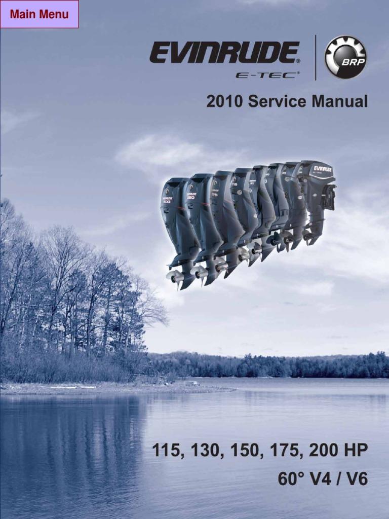 12474526-Download Service Manual Evinrude E-tec 115-200 Hp 2010