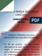 Proyecto Parque Zoológico Caricuao Consejo Comunal Uco3334