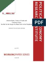 Taxas de Juros, Termos de Troca e Crise de Câmbio, Estamos à beira de uma nova crise na Periferia.pdf