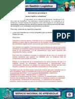 Evidencia 3 Foro Proceso Logistico Colombiano