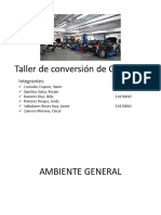Taller de Conversion a GNV