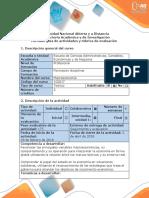 Guía de Actividades y Rúbrica de Evaluación - Fase 2 - Identificar El Problema Central Del Caso de Estudio