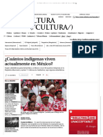 ¿Cuántos Indígenas Viven Actualmente en México_ - Grupo Milenio