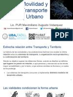 PU Clase Teorica Sobre Movilidad y Transporte de Maxo Velazquez