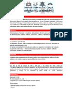 Diploma de Especialización en Psicodiagnóstico de Rorschach