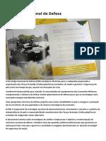 Estratégia Nacional de Defesa - Ministério Da Defesa