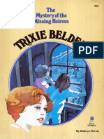 Trixie Belden 16 - The Mystery of the Missing Heiress