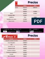 Catalogo Sandalias Anat (EMILIS)