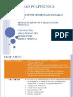 Test de Ampe-thurstone