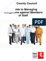 01.03.2017 Managing Allegations Against Staff Practice Guidance FINAL