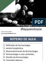 Aula 3 - Introdução à Farmacologia Veterinária