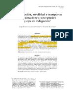 18_Jorge Blanco, Luciana Bosoer y Ricardo Apaolaza_Gentrificación, Movilidad y Transporte_aproximaciones Conceptuales y Ejes de Indagación.
