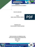 Evidencia 5 Tabla de Datos Identificacion de Segmento