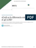 ¿Cuál es la diferencia entre el 4G y el 4G LTE_ _ El Economista