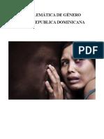 Problemática de Género en La Republica Dominicana