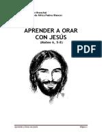 Aprender a Orar Con Jesús