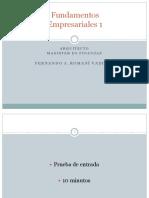 Fundamentos Empresariales 1