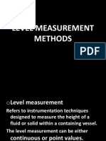 Level Measurement TECHNOLOGY