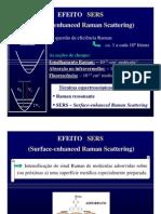 PG-SERS nanotecnologia