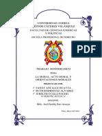 Monografia de La Deontologia