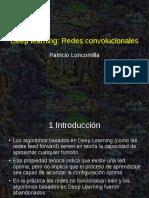 Deep L . Redes Convolucionales