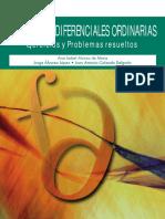 Ecuaciones Diferenciales Ordinarias - Ana Isabel Alonso de Mena