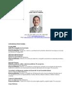 CV de Juan Carlos Zamora