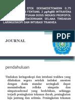 PERBANDINGAN EFEK DEKSMEDETOMIDIN 0,75 μg.pptx